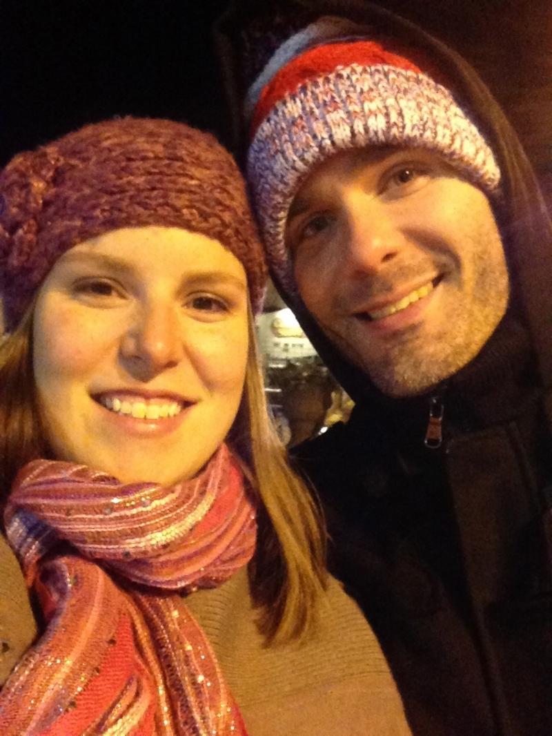 It was below zero in Detroit & Frankenmuth, MI!