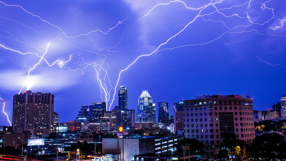 Austin Skyline - Weather