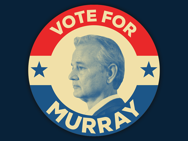 Vote for Murray Main Logo Design