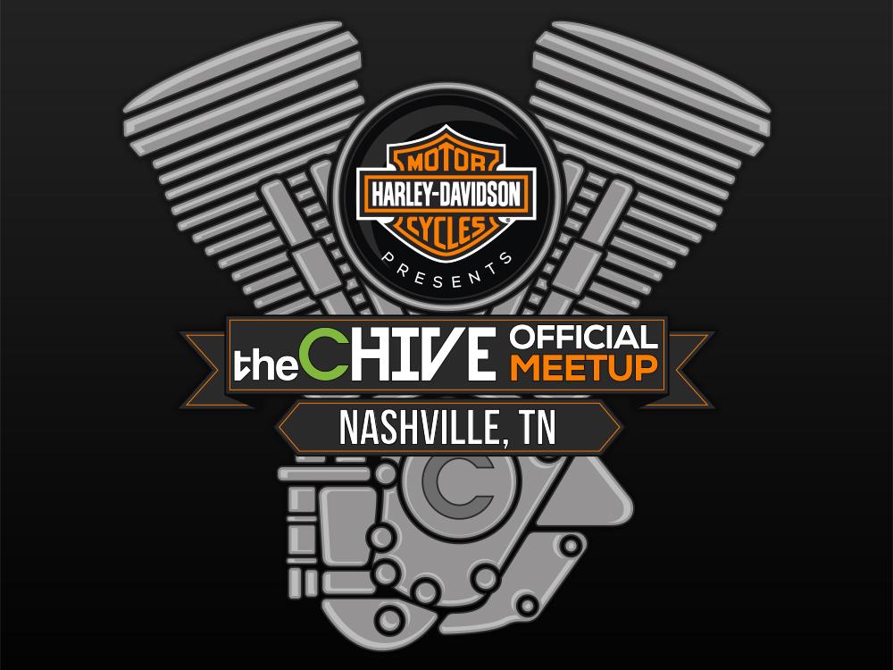 Main Logo Lockup incorporating both Harley-Davidson and theCHIVE logos.