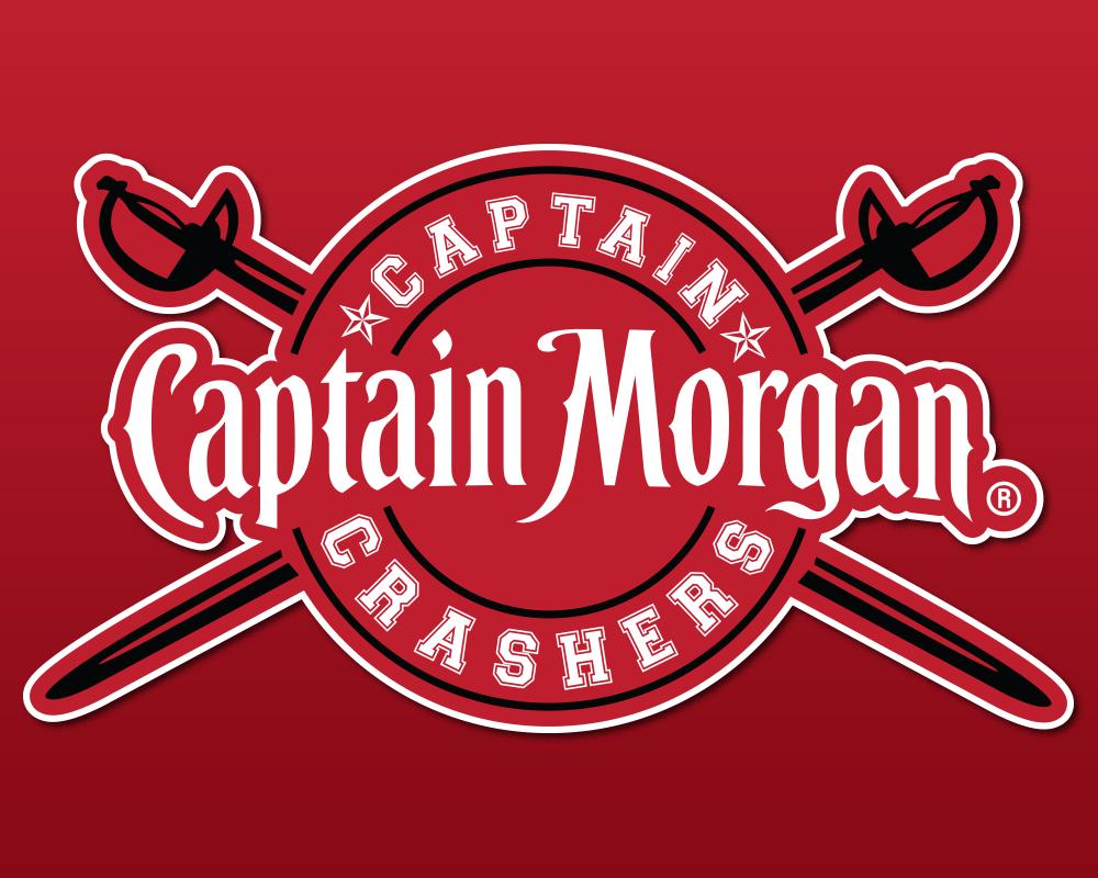 Custom Captain Morgan Logo for Event Series