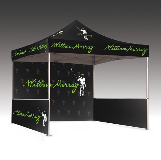 Branded tent mockup