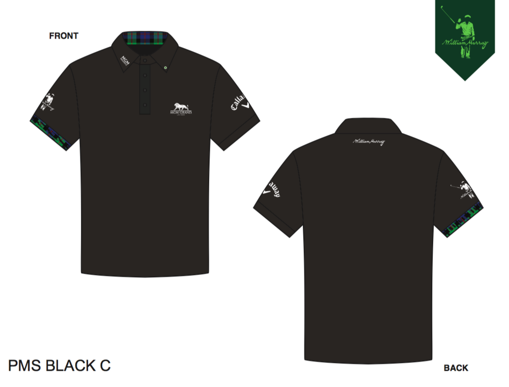 Pat Perez custom sponsored polo mockup