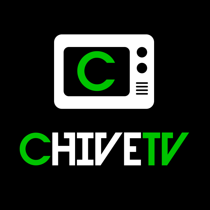 Chive TV logo design
