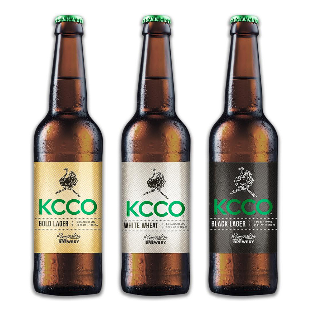 Second generation bottle label design