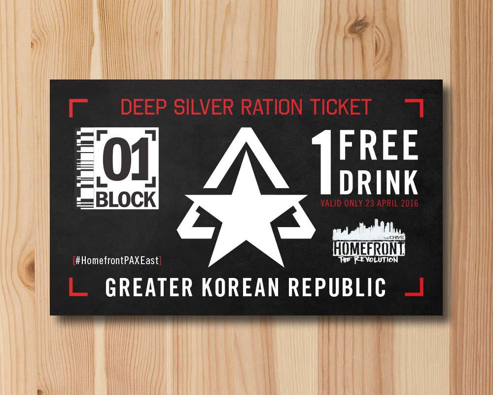 Ration ticket for event - Drink voucher