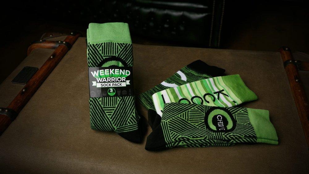 Custom socks and packaging