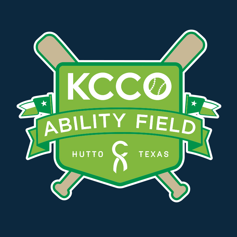 Logo for KCCO Ability Field in Central Texas
