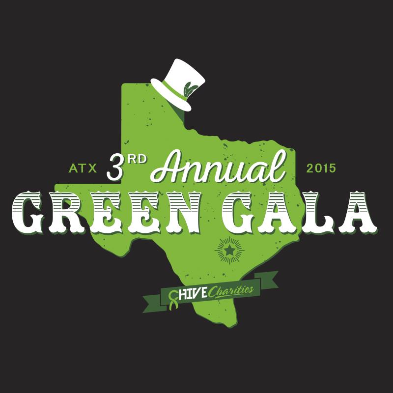 Annual Charity Gala logo for digital and print