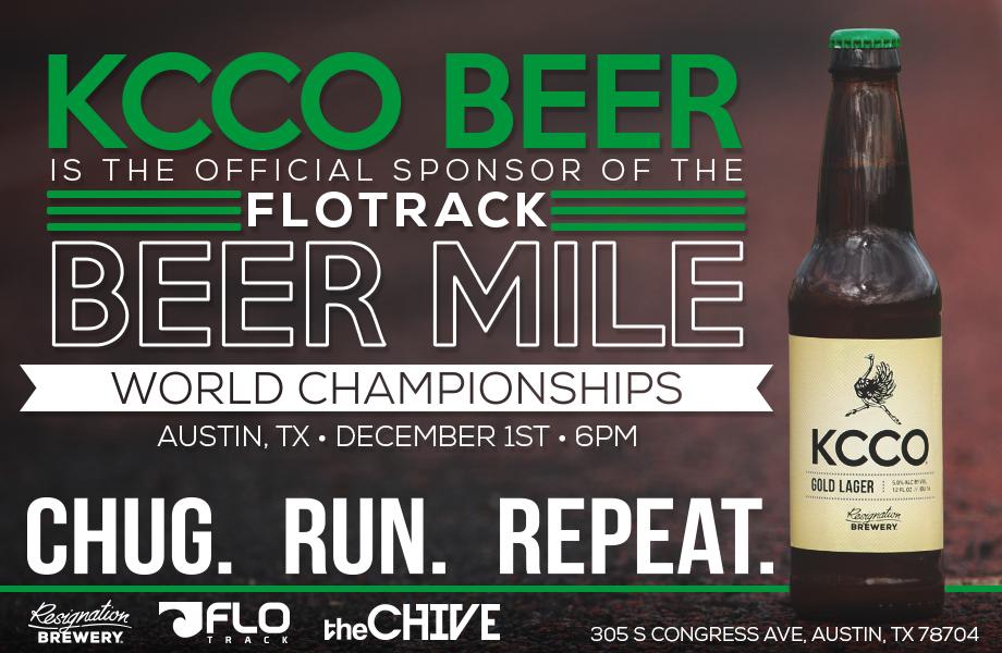 Sponsored event asset - Flotrack Beer Mile
