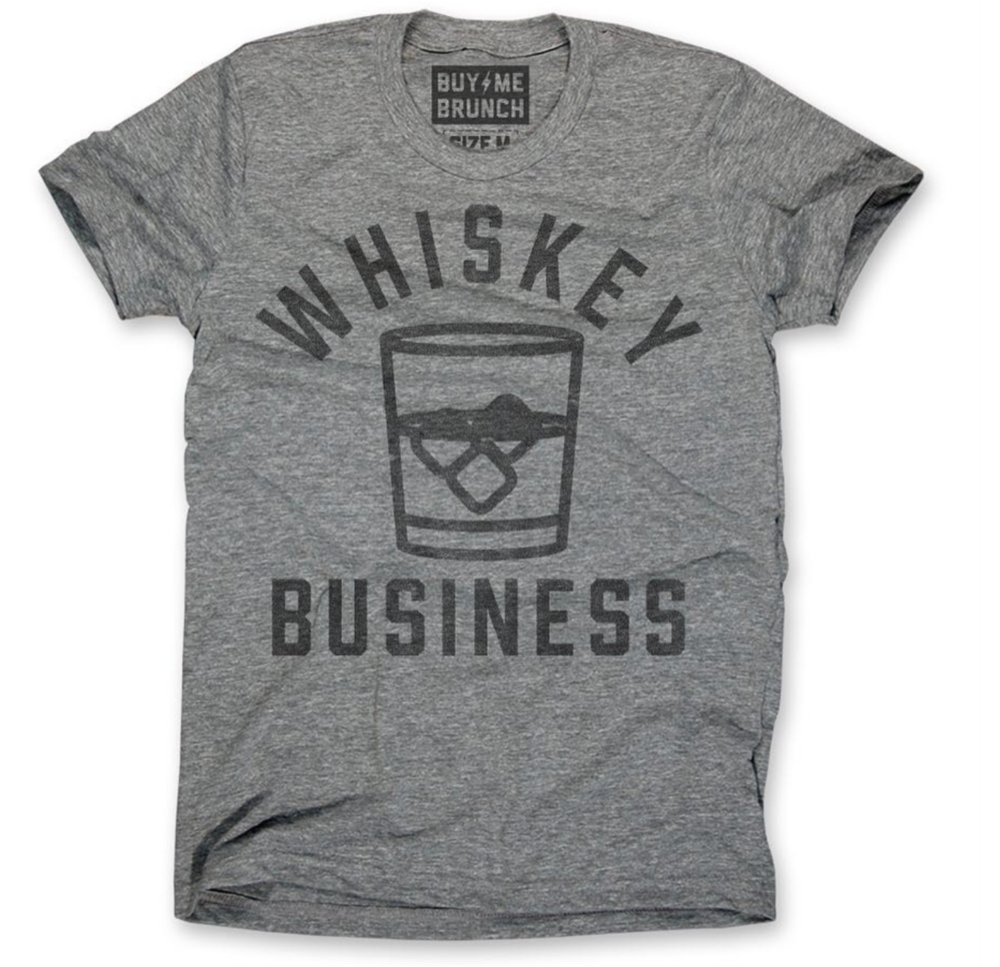 Whiskey Business Tee Design