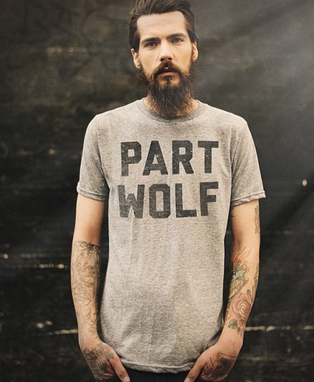 Part Wolf Tee and Lifestyle Photography