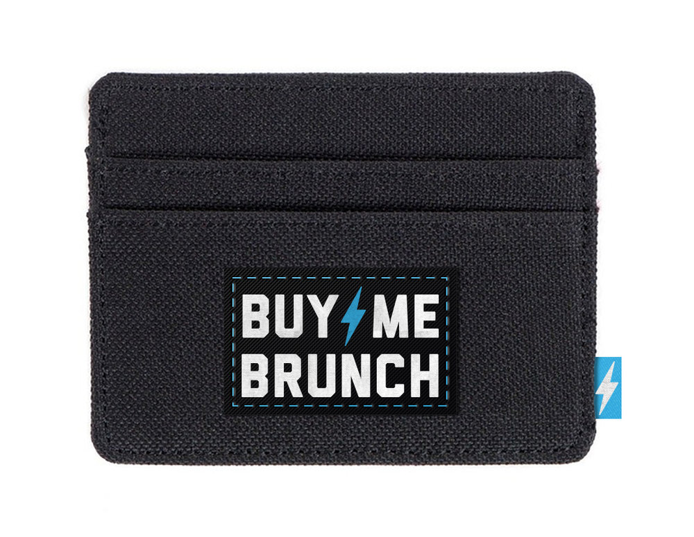 Card Holder with Woven label and trims