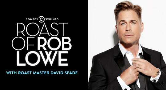 Banner Asset for the Roast of Rob Lowe