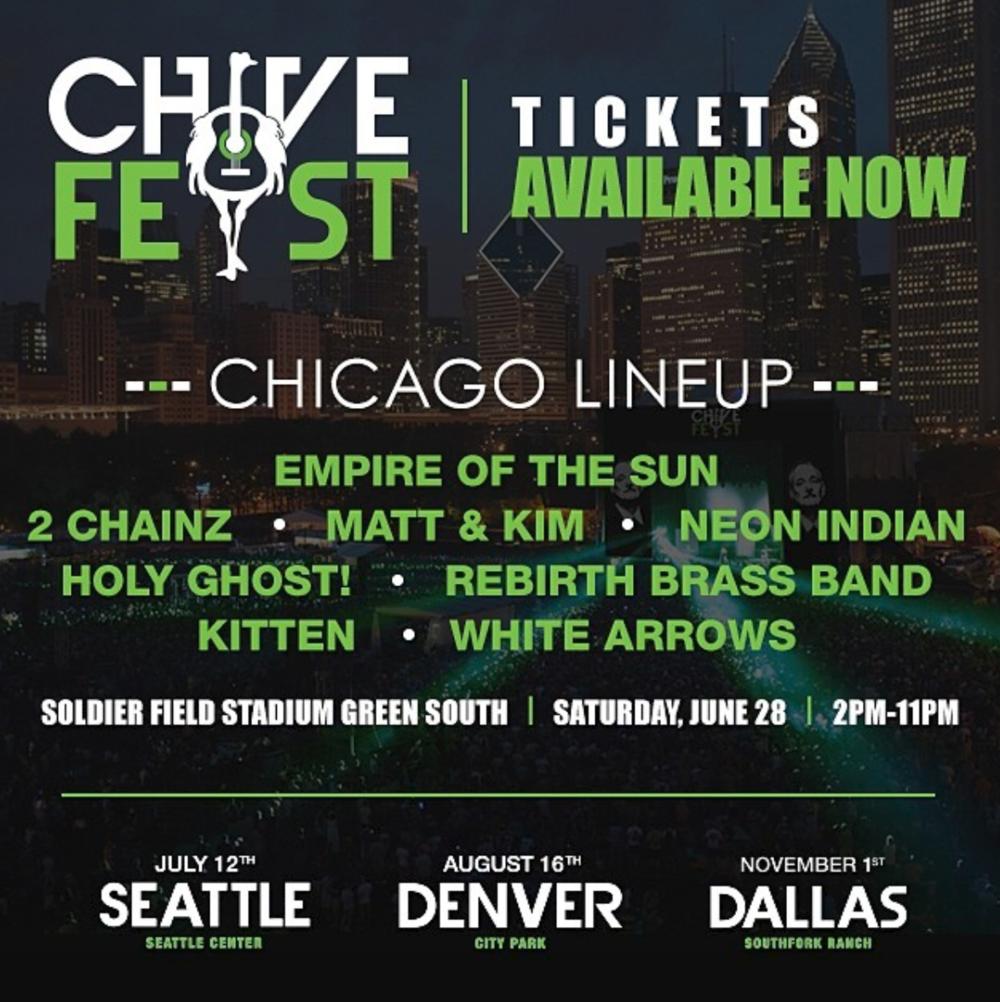 Festival Lineup Card