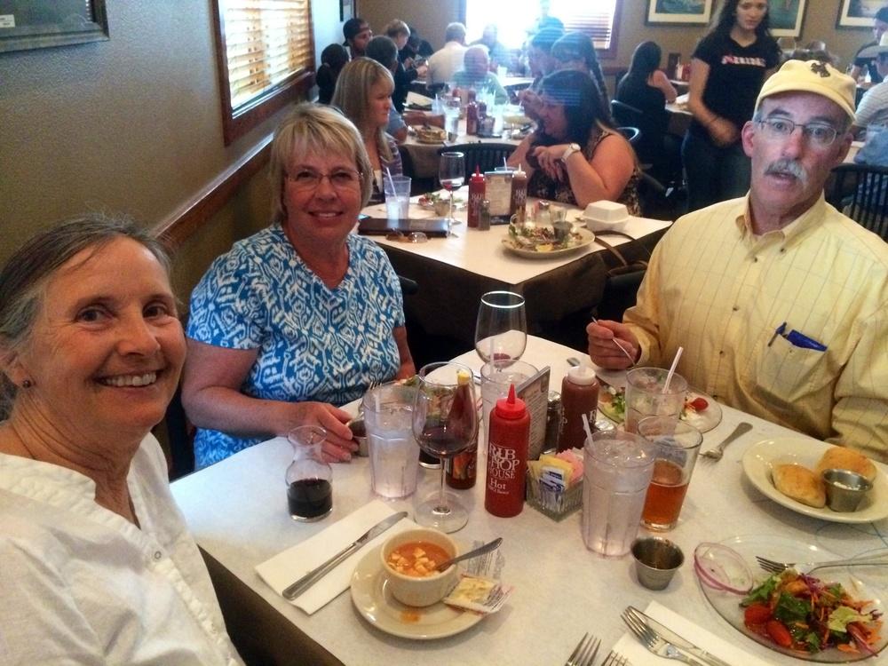 Dinner with Jann and Hayden