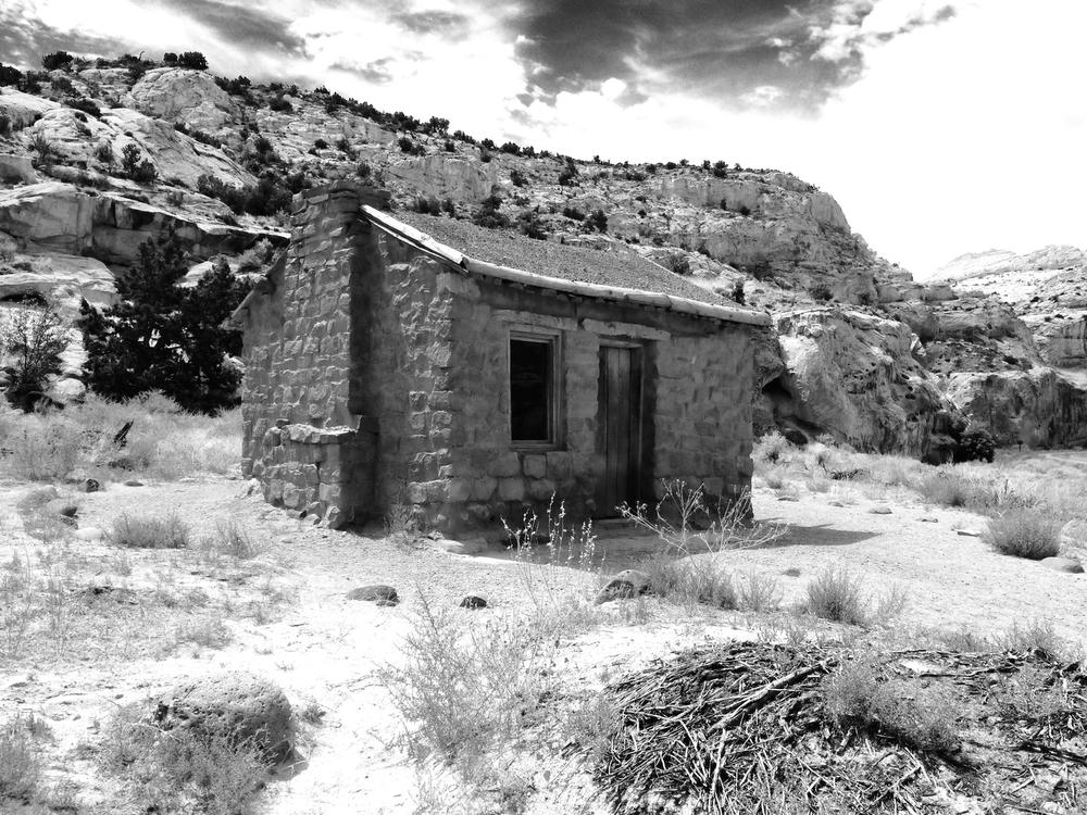 Historic Mormon family cabin