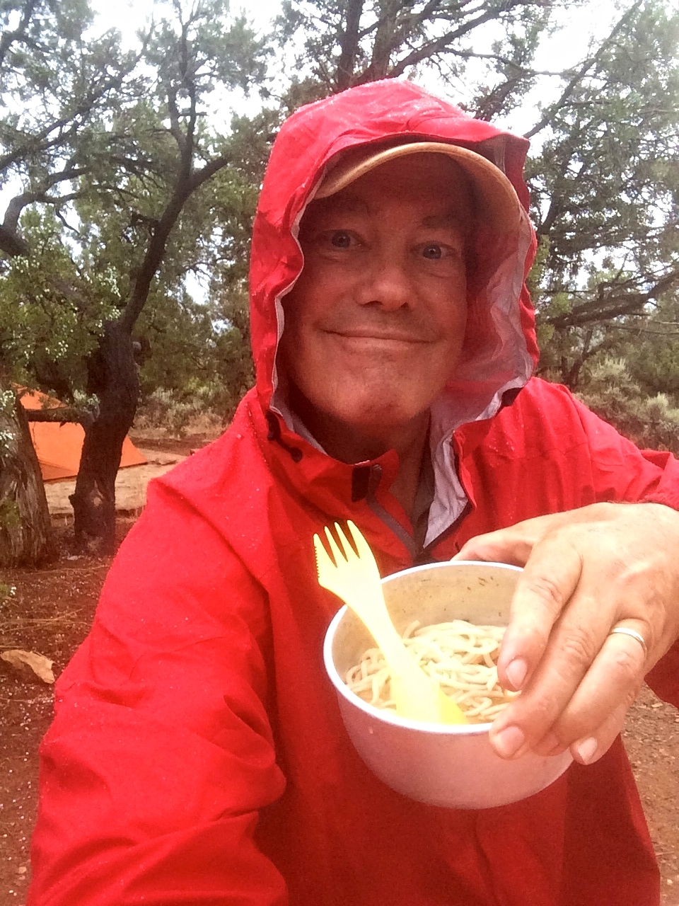 Noodles in the Rain