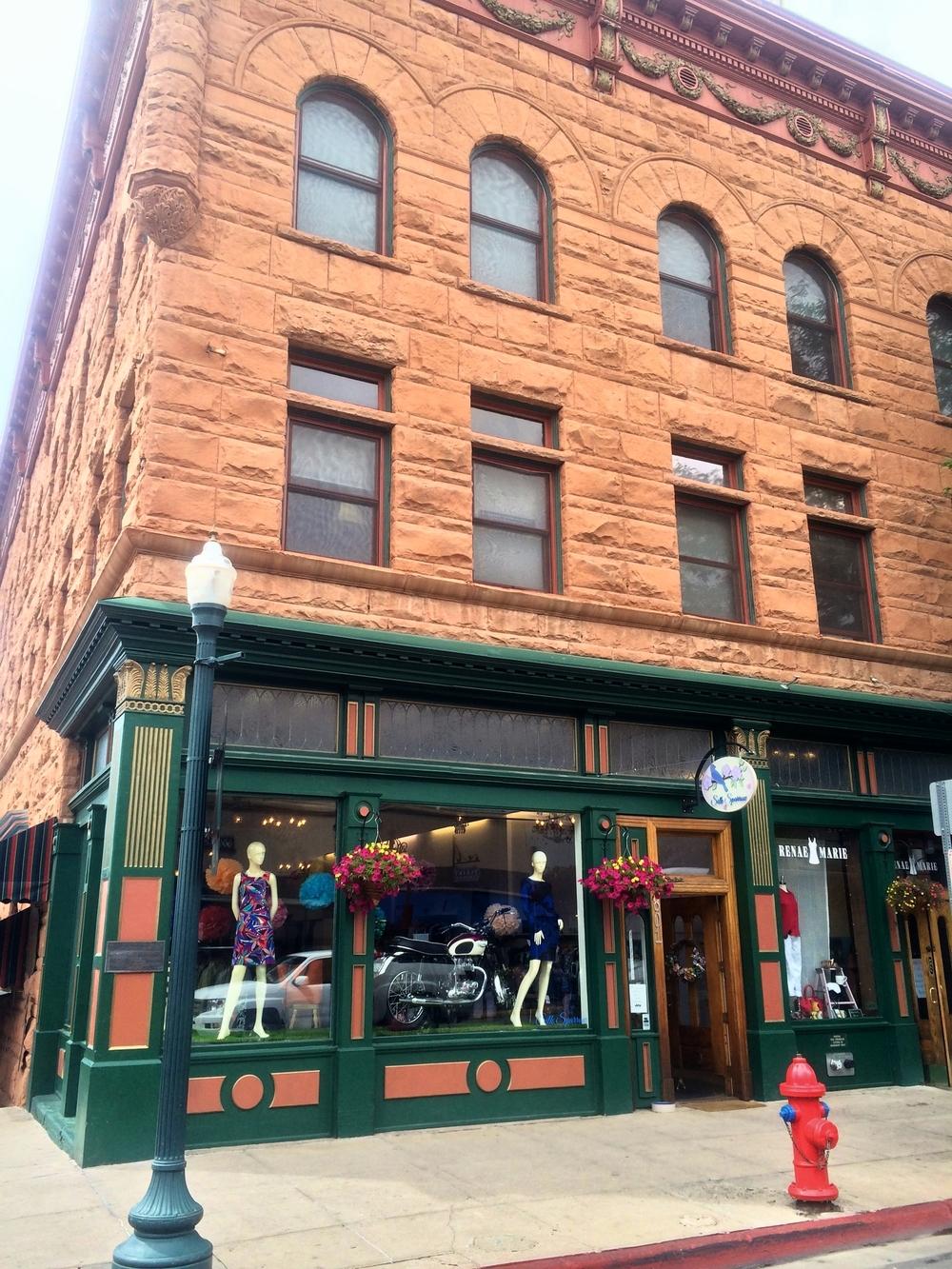 Pretty Durango Shops on Main St