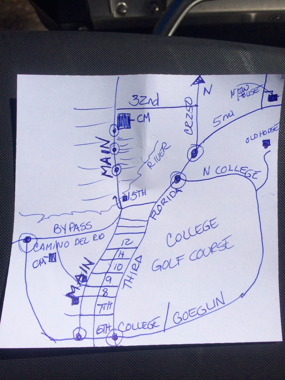 Directions to Marcy's New House
