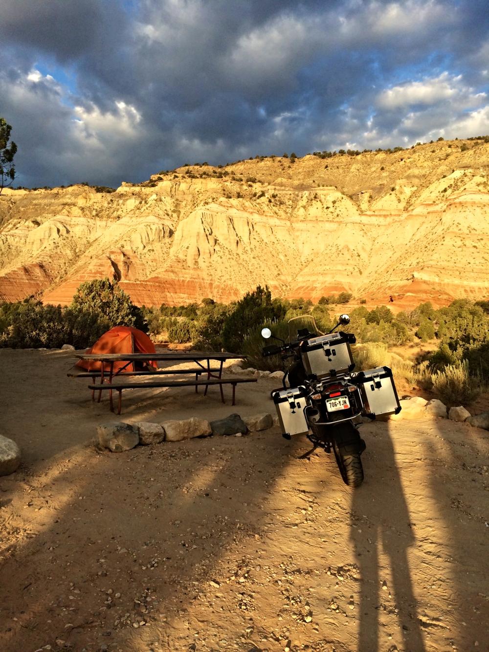 My campsite - Bryce KOA Sunrise