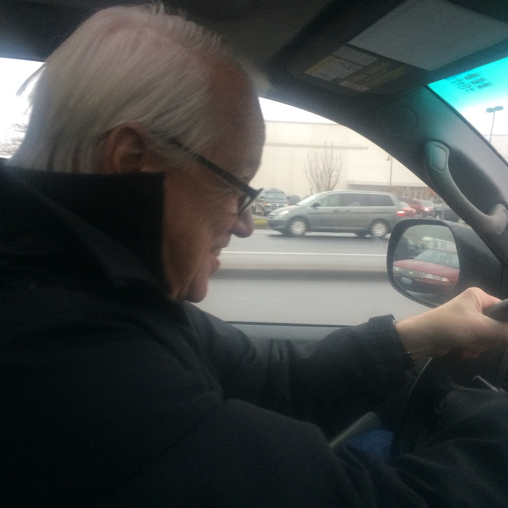 Rich drives like a madman - don't want to miss Santa!