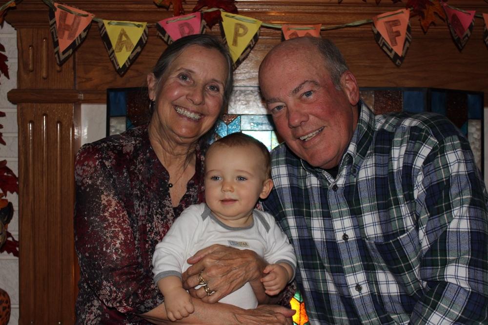 OK Grandpa, smile for the camera