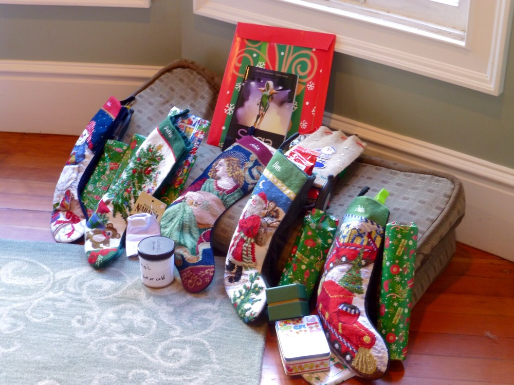The stockings were hung.........