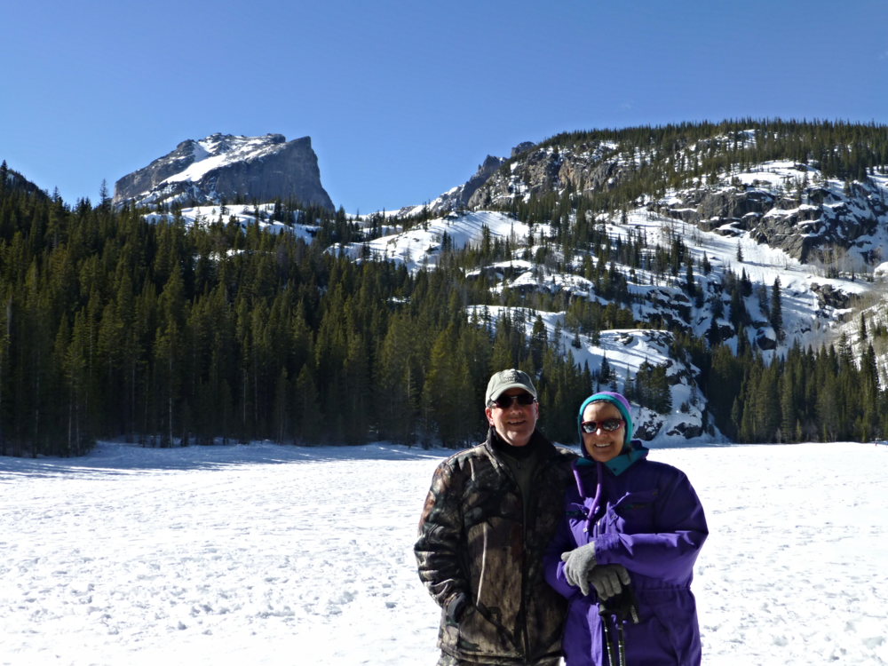 Sal and I - Bear Lake Buddies
