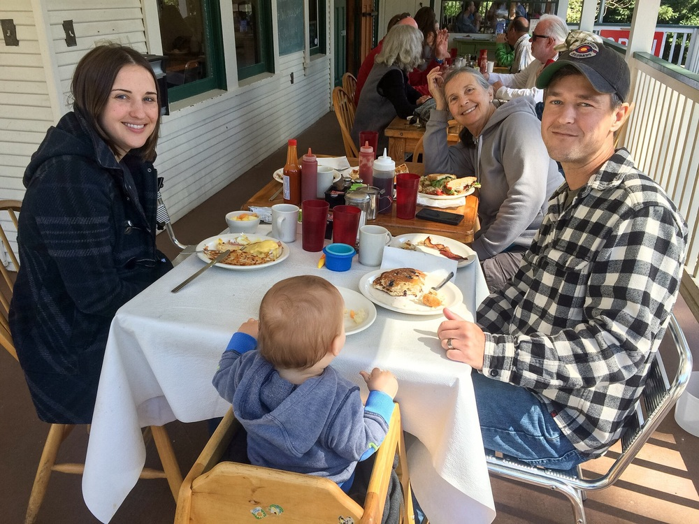 "Brunch at ""Rocky's"" in Felton"