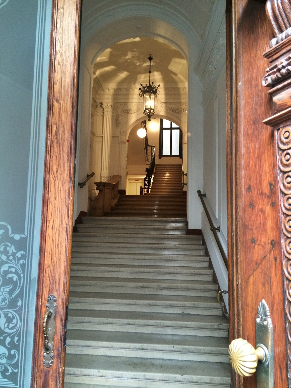 Lovely entrance to the K&T Boarding House2, Vienna