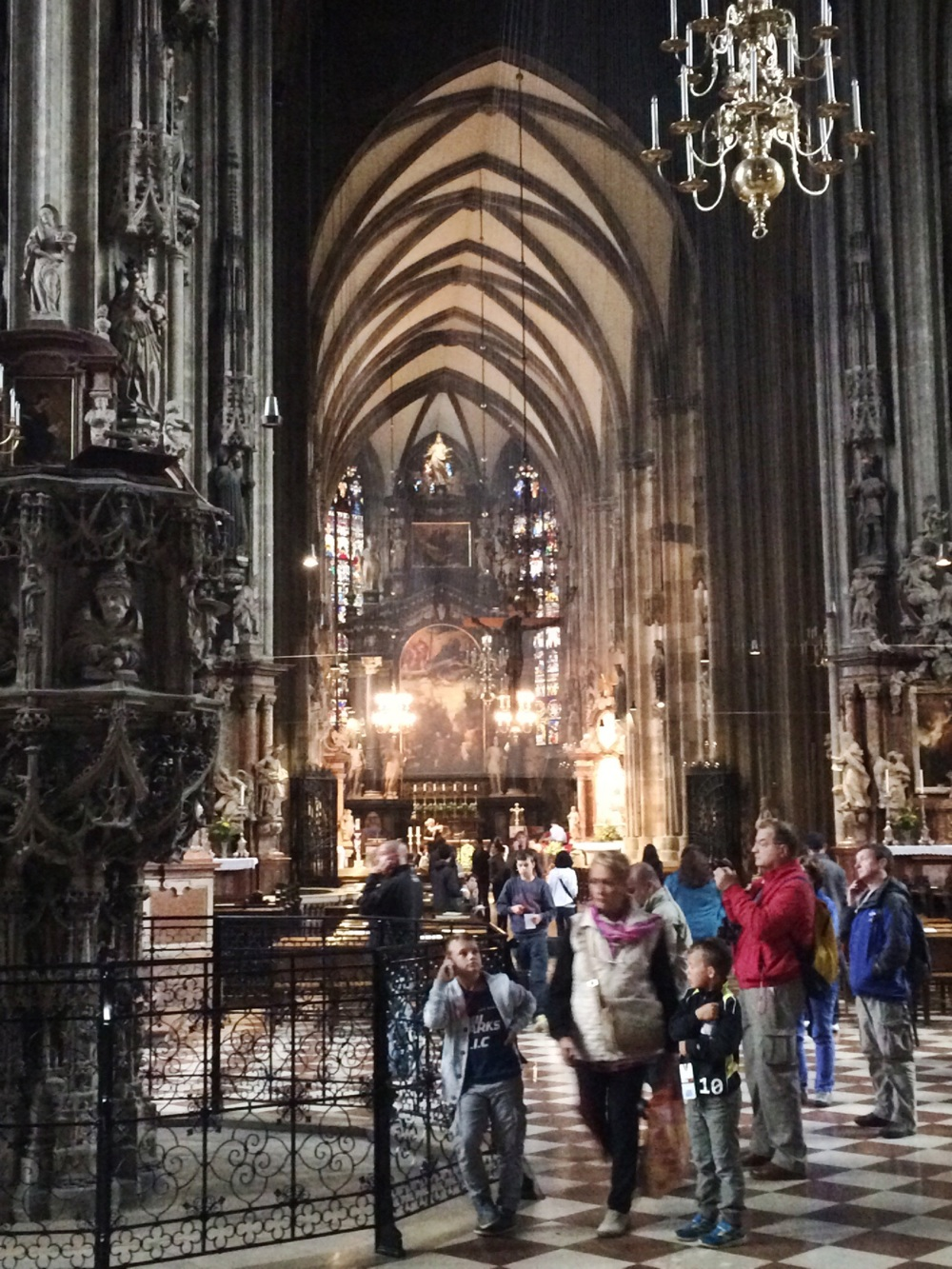 St Stephens Cathedral - string quartet playing in the background