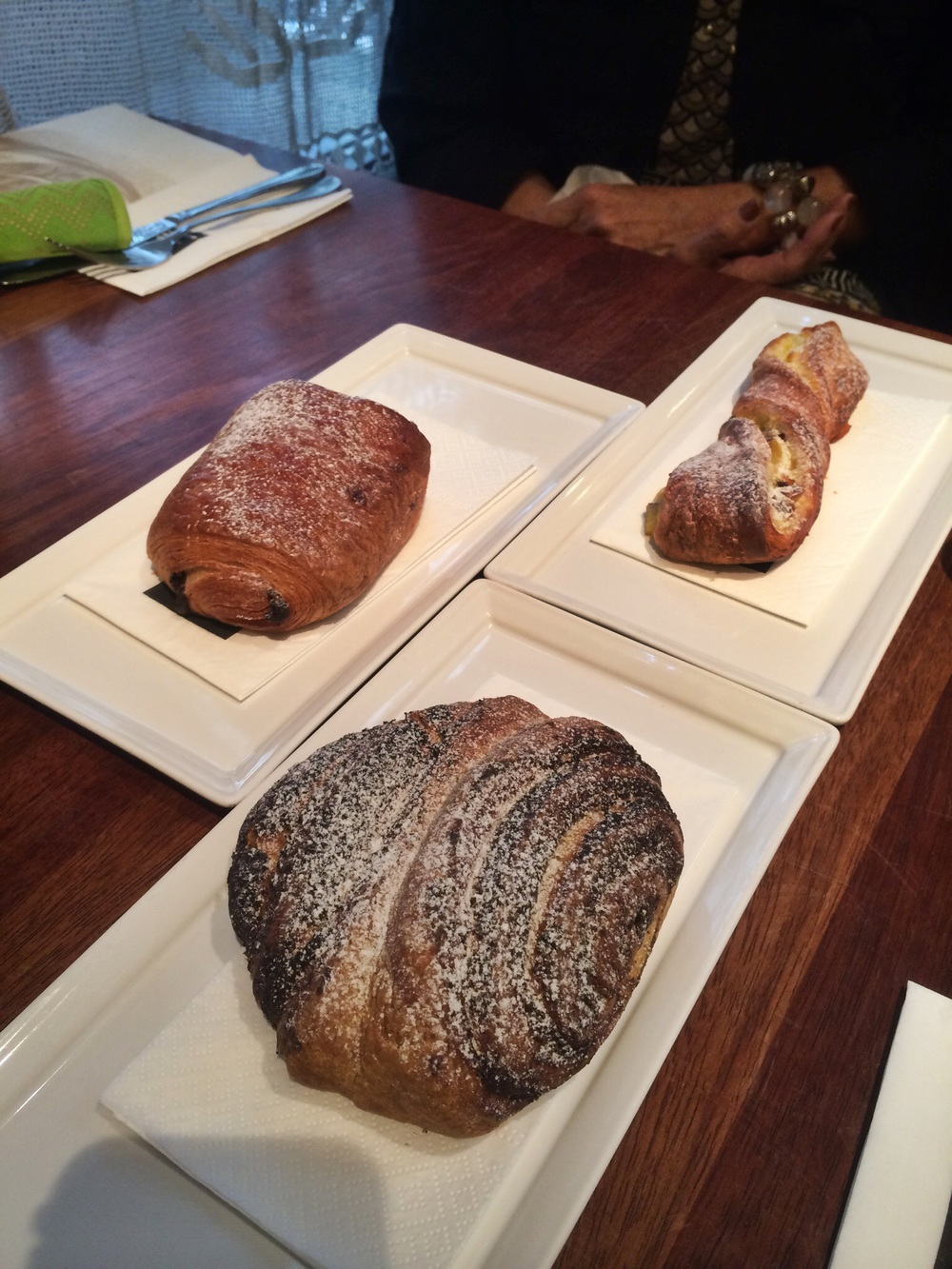 Wonderful warm-from-the-oven breads