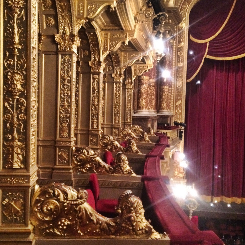 The Hungarian State Opera House - rated one of the 5 best in the world and the cheapest tickets in Europe!