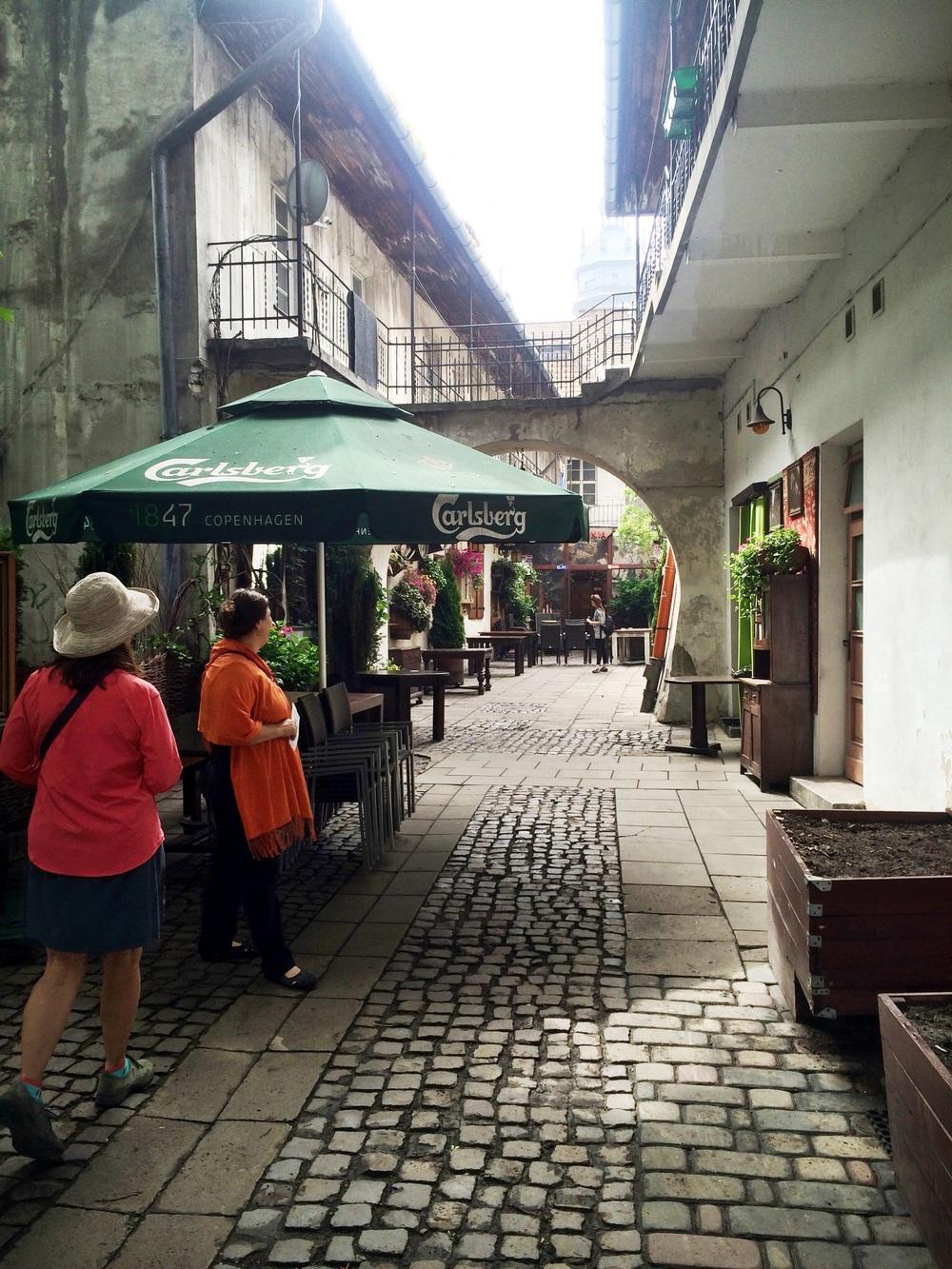 Part of Schindler's List was filmed here