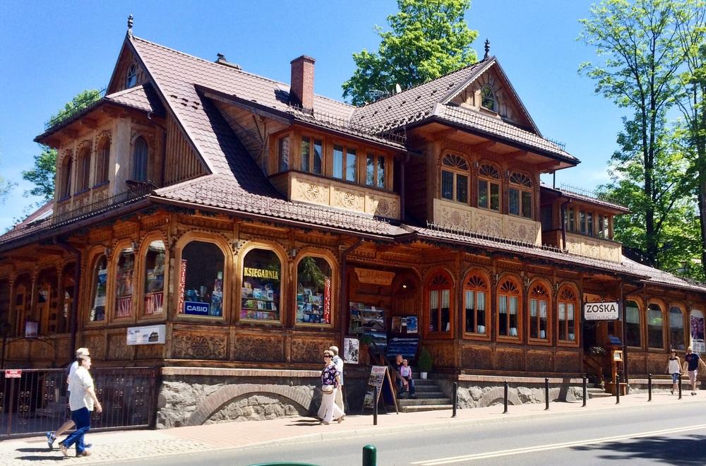 An example of Zakopane style architecture
