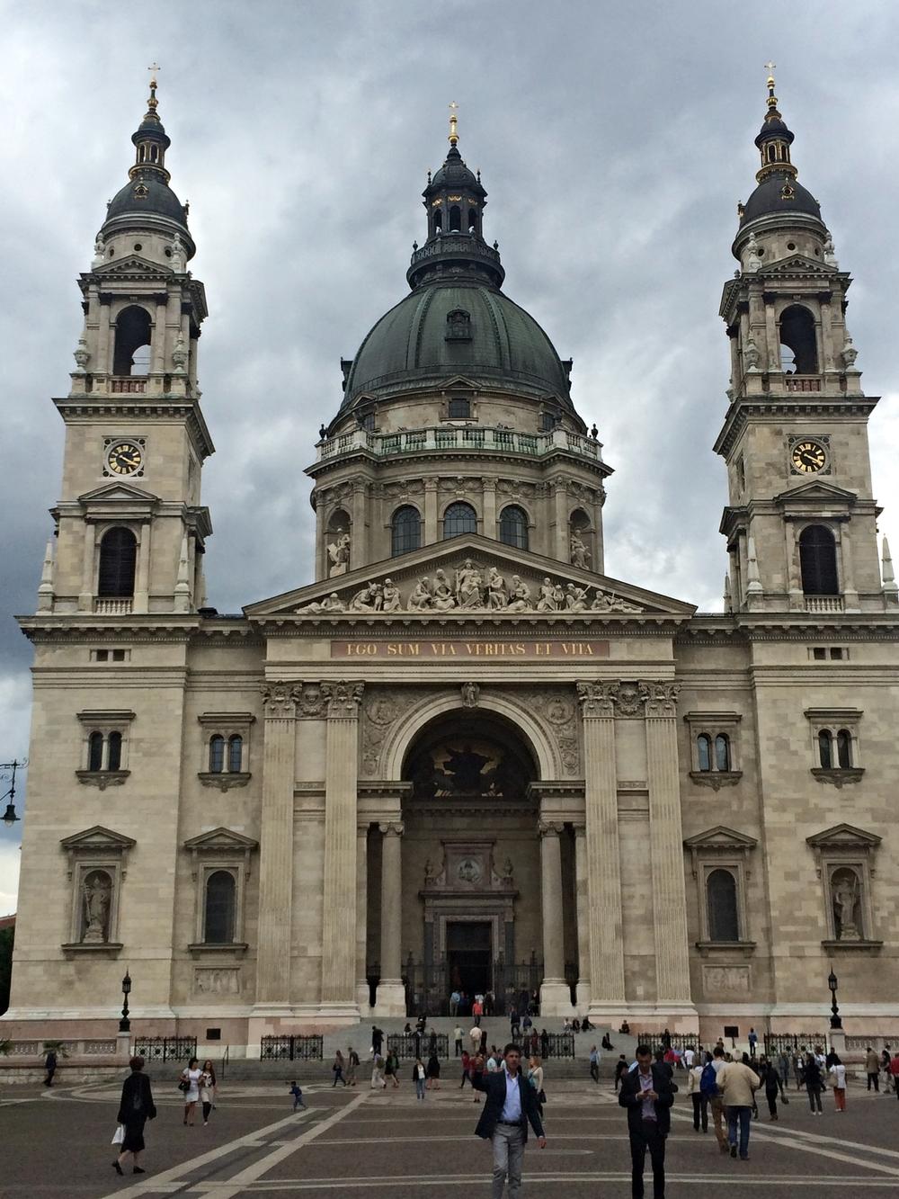 St. Istvan's impressive entry