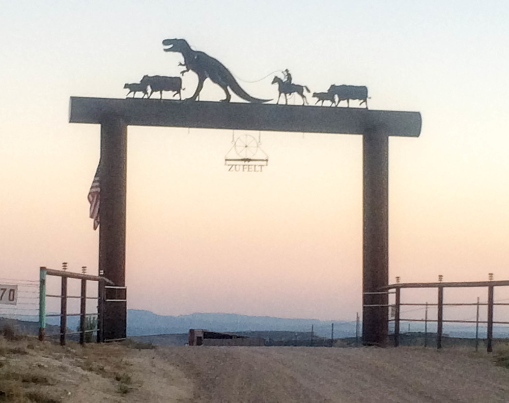 My favorite ranch gate near Dinosaur National Monument