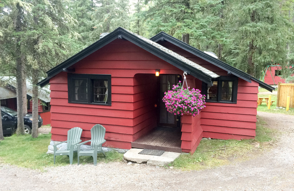 Our Bungalow at Miette Hot Springs