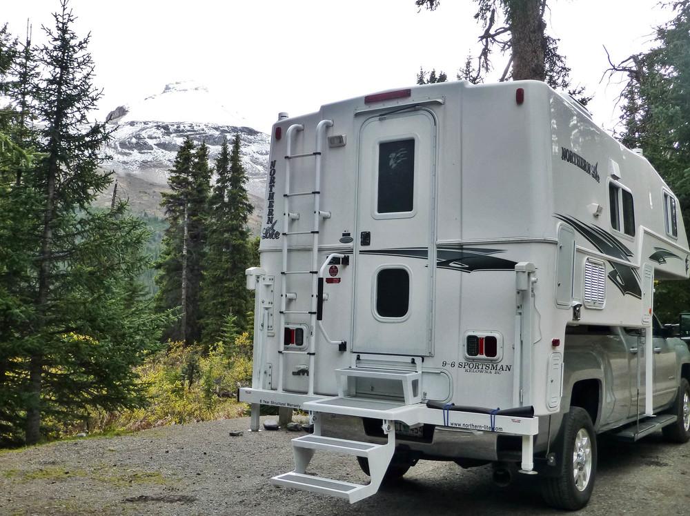 Campsite at Wilcox Campground