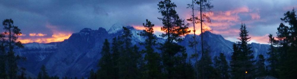 Banff sunrise
