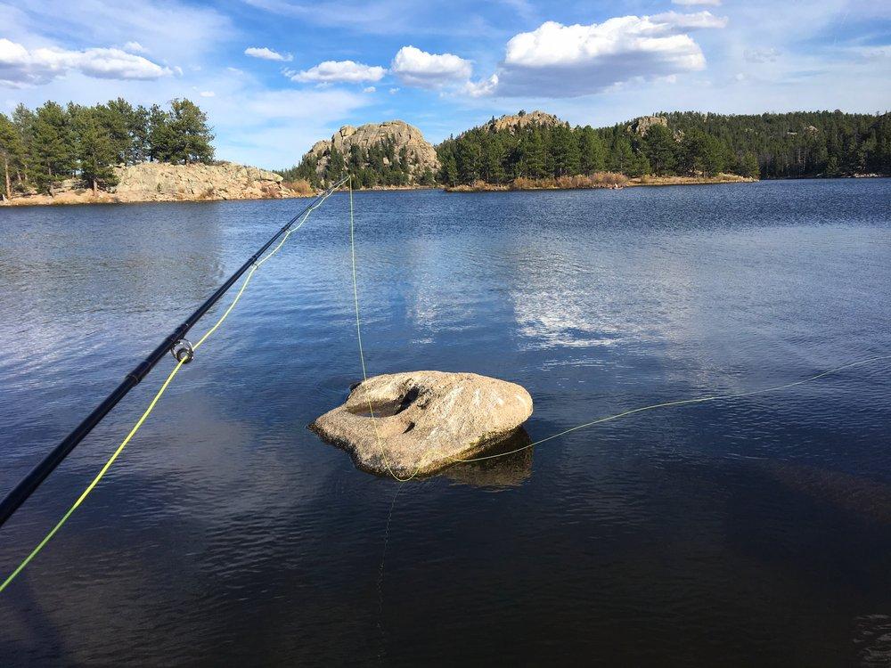 Parvin Lake views