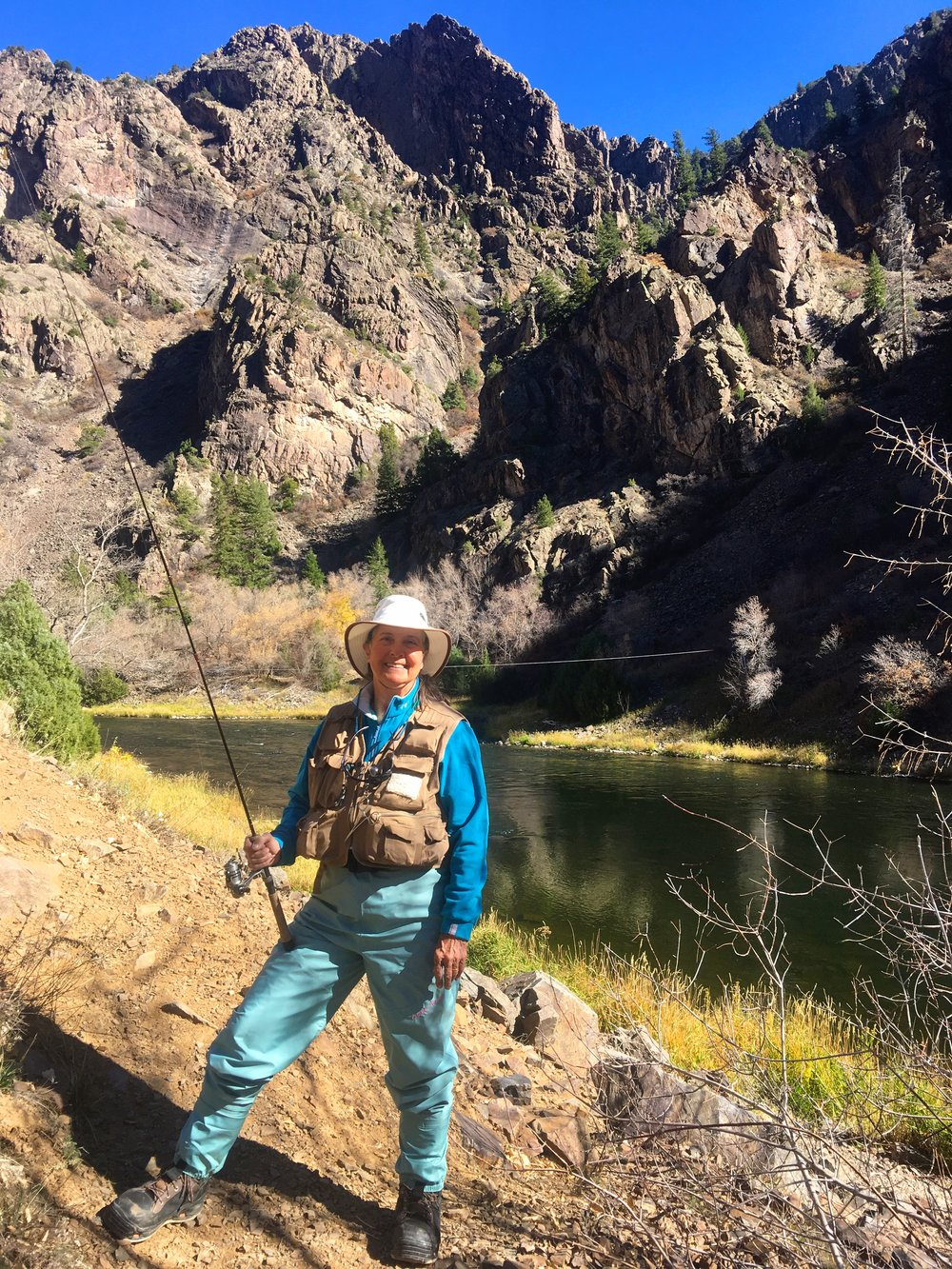 The Gunnison River - lovely, wild water