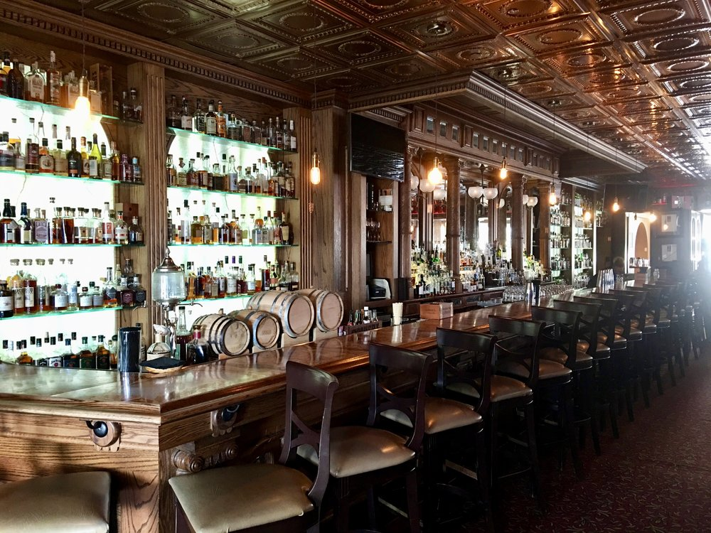 The beautiful old Whiskey Bar