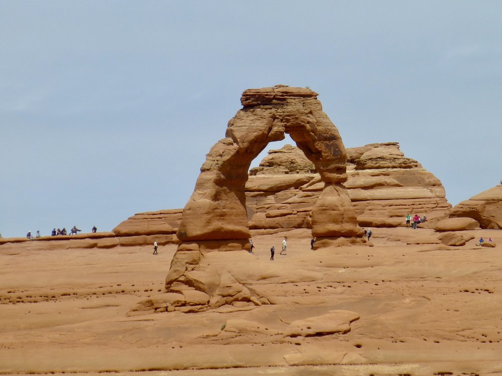 The iconic Delicate Arch