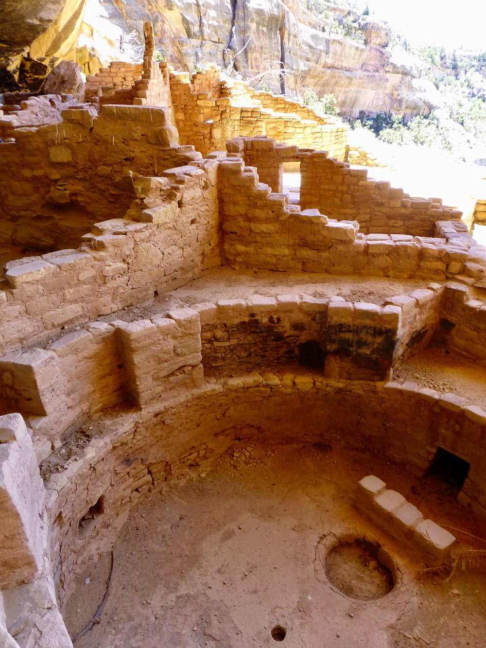 One of the Long House kivas