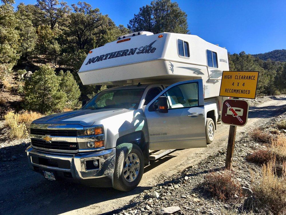 Wildrose Canyon Road - pretty rough