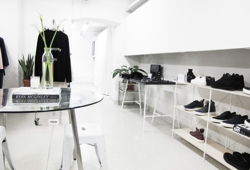 The  We Shall Run  Agency and Showroom in Stockholm, Sweden.
