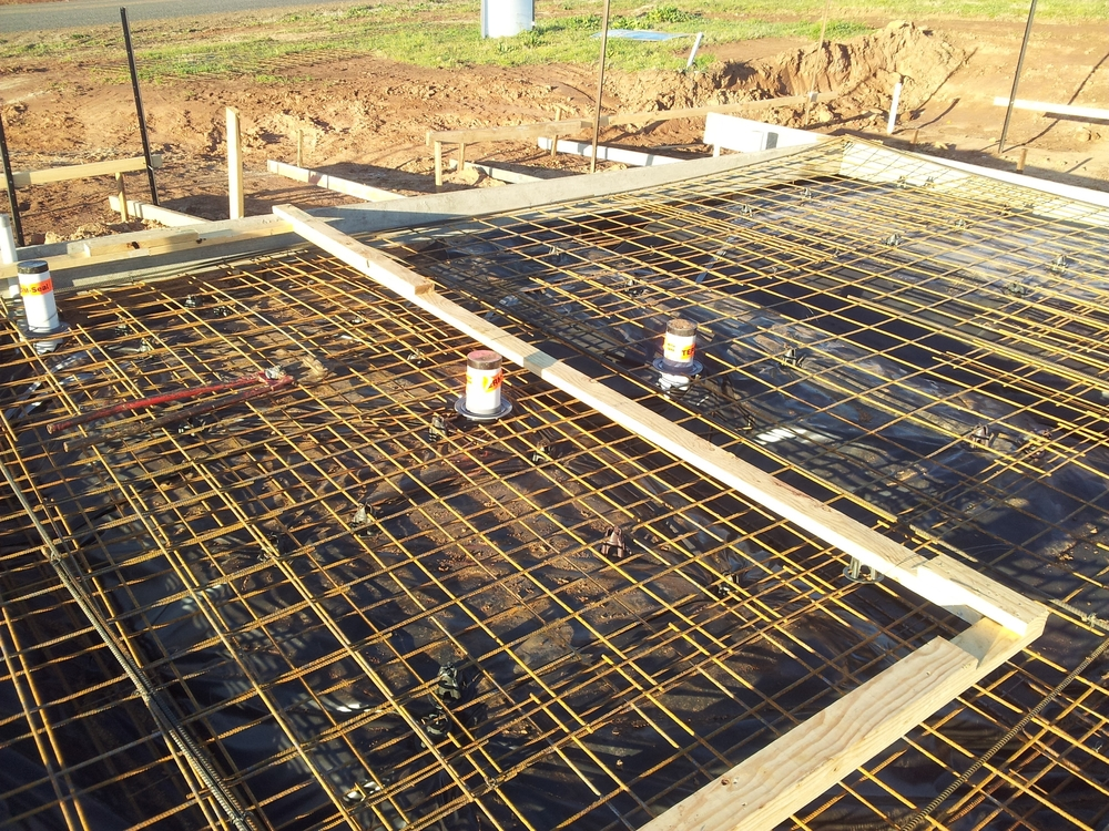 Ensuring a concrete slab is poured to Australian Standards can potentially make an excellent termite barrier for your property.