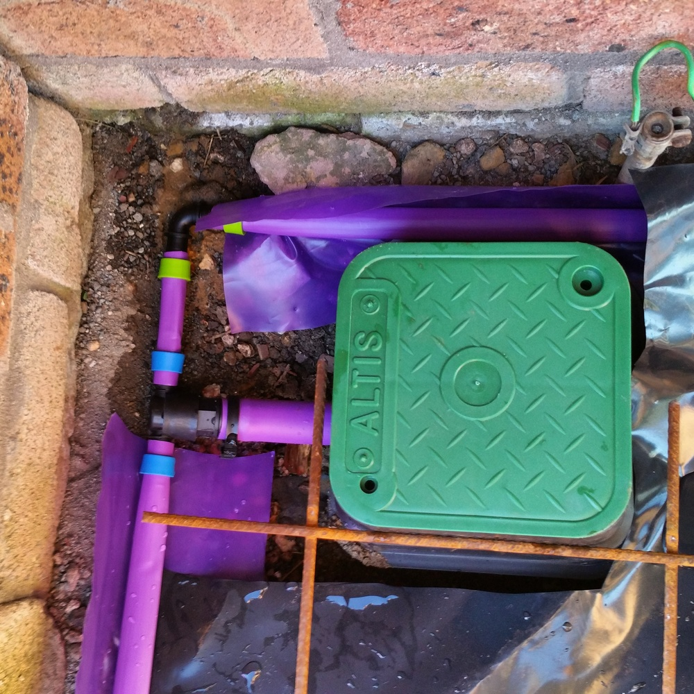 An Altis reticulation system - tested and ready to go!
